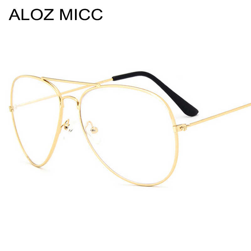 a709ac14f22 High Quality Classic Women Glasses Frame Luxury Men Clear Lens Glasses Metal  Spectacle Frame Optics Myopia