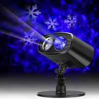 Christmas Halloween Party LED Laser Projector Lights Snowflake Spide Moving Projector Landscape Stage Light Show Sparkling