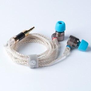 Image 5 - AK 2017 Tin Audio T2/T2 PRO w ucho słuchawki podwójne dynamiczny napęd HIFI słuchawki basowe DJ metalowe słuchawki zestaw słuchawkowy wtyk cyny T3