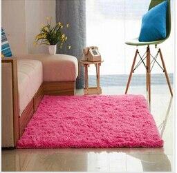 Épais 4.5 cm chaud anti-dérapant tapis et tapis pour salon chambre plancher personnalisé Shaggy chambre tapis - 6