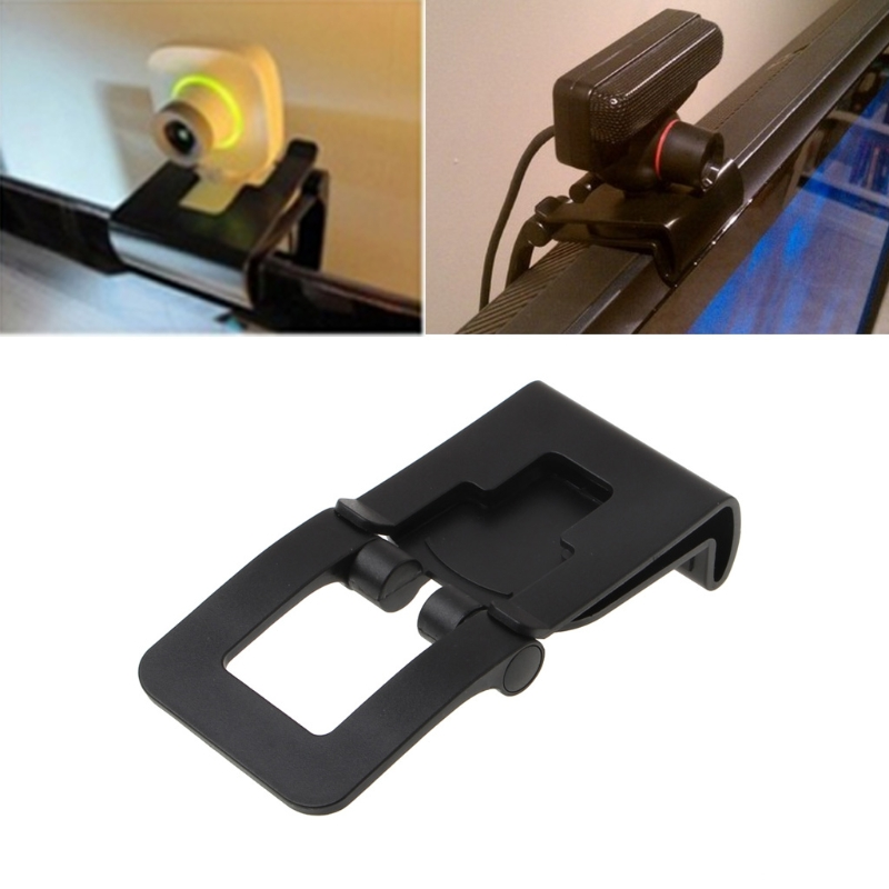 OOTDTY Adjustable TV Mounting Clip Holder Stand For Sony PS3 Move Controller Eye Camera