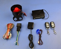 Suprised!!!  1-Way Car Vehicle Protection Alarm Security System Keyless Entry Siren +2 Remote