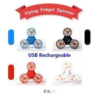 Pressure Reliever Fidget Spinner Toy Spinning Mini Rechargeable Automatic Rotatable magic floating flying spinner Spinning Top