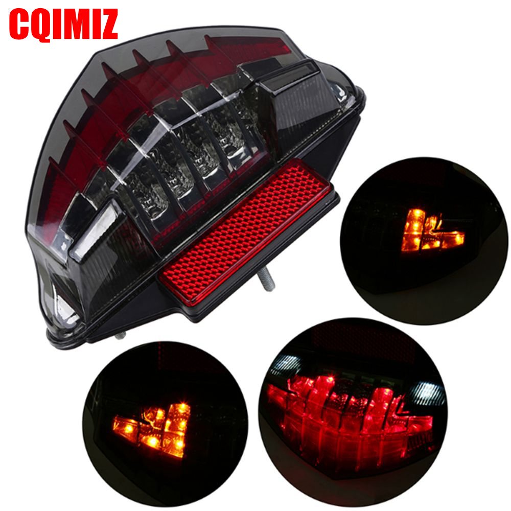 Motorcycle LED Brake Tail Light Turn Signal Indicator For BMW R1200GS Adv F800S F800ST F800GT F800R 2003-2014