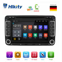 Hikity Car Multimedia Player Android 2 Din Car Radio GPS Navigation radio stereo player for Volkswagen/VW/ Passat/POLO/GOLF