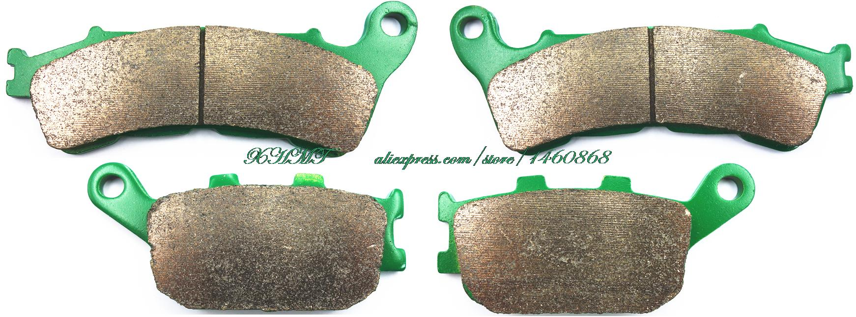 Brake Pads Set For <font><b>Honda</b></font> Nc700 Nc <font><b>700</b></font> Sa,Xa Sd,Xd Abs / <font><b>Integra</b></font> Nc <font><b>700</b></font> Dc Dd 2012 & Up/ Cbf500 Cbf 500 Abs 2004 2005 2006 2007 image