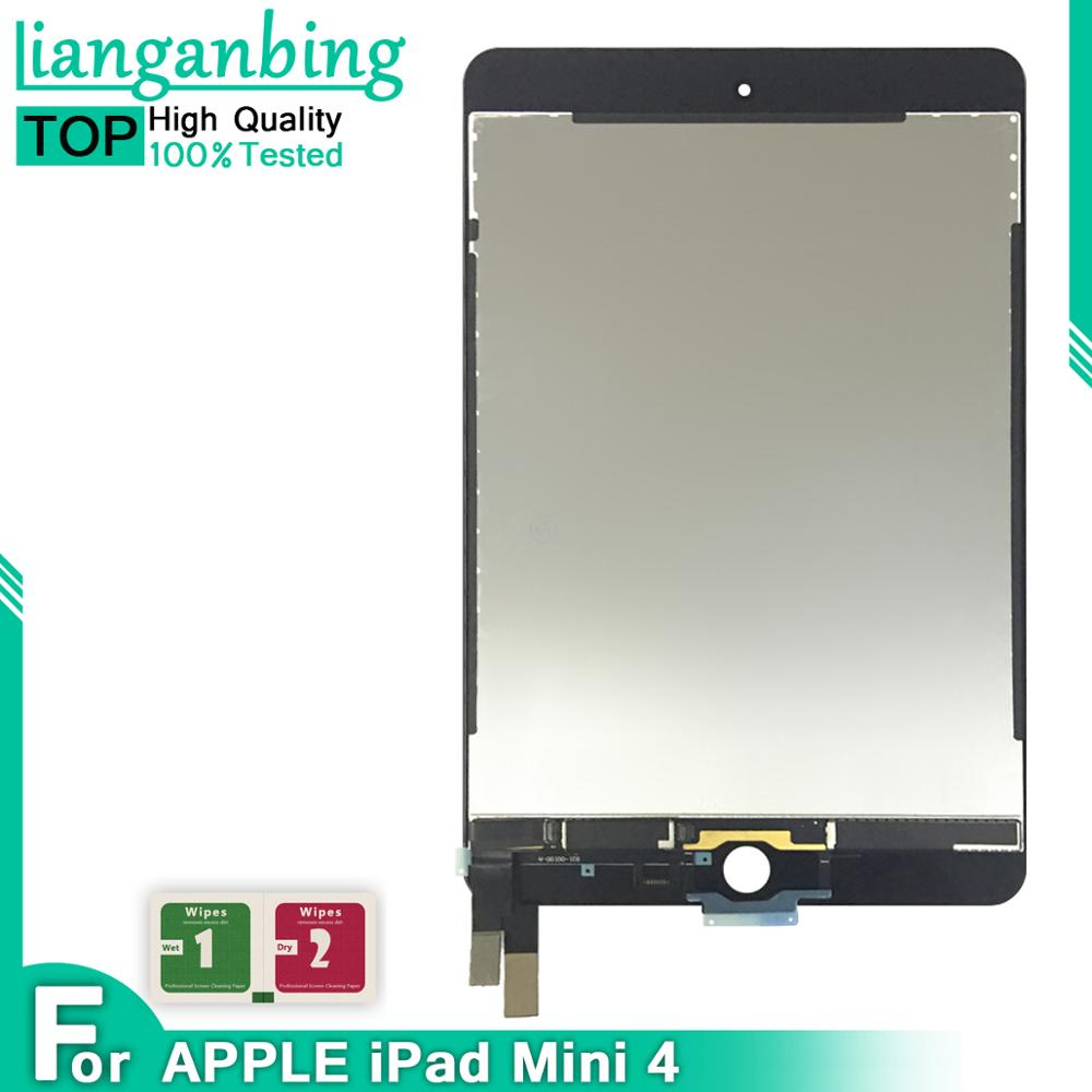 Best Quality 9.7'' For IPad Mini 4 Mini4 A1538 A1550 LCD Display Touch Screen Digitizer Panel Assembly Replacement Part(China)