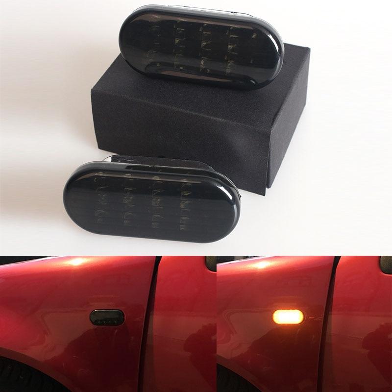 1 pair Car Side Marker Light LED Turn Signal Lamp with Black Lens Blinker For VW Jetta Golf 4 GOLF4 Mk4 Passat B5 B5.5 1999-20041 pair Car Side Marker Light LED Turn Signal Lamp with Black Lens Blinker For VW Jetta Golf 4 GOLF4 Mk4 Passat B5 B5.5 1999-2004