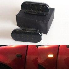 цена на 1 pair Car Side Marker Light LED Turn Signal Lamp with Black Lens Blinker For VW Jetta Golf 4 GOLF4 Mk4 Passat B5 B5.5 1999-2004