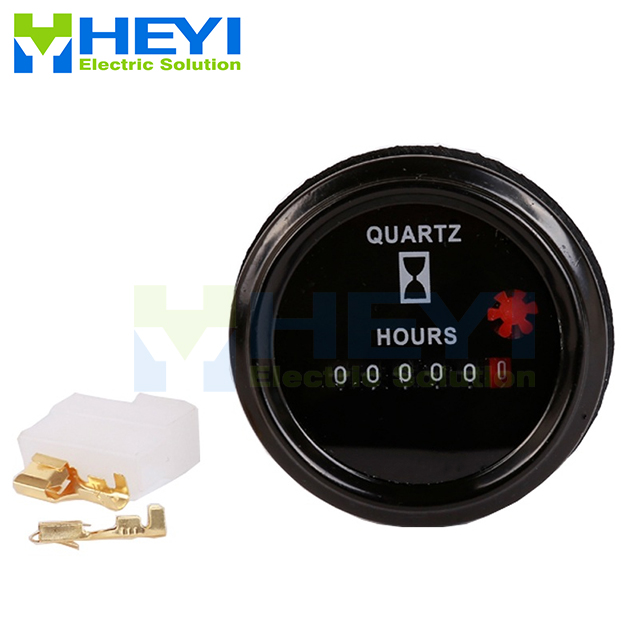 Hour Meter LY-748 Round Hour Meter Counter Industrial Electronic Mechanical Timer for Car Motorcycle Dirt Bike GeneratorHour Meter LY-748 Round Hour Meter Counter Industrial Electronic Mechanical Timer for Car Motorcycle Dirt Bike Generator