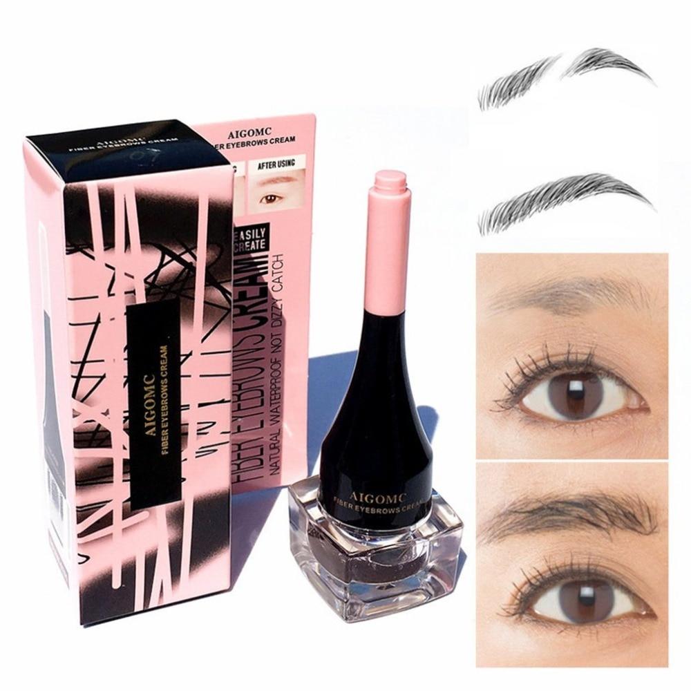 1 Pc Sevich Natural Makeup Eyebrow Eyelash Makeup Silk