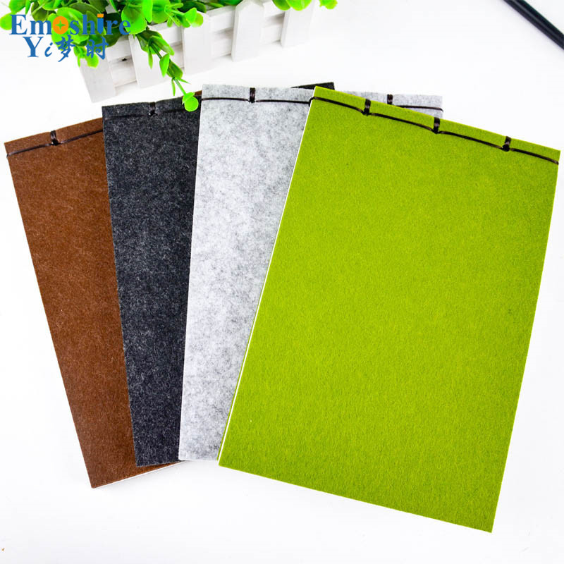 Creative Retro High-end Thickening Notebook Stationery Blankets Blank Diary Notebook Business Simple Gifts for Art Students N068 high quality silk 35mm 200m blank washing mark high end laundering tags for garment provide custom order