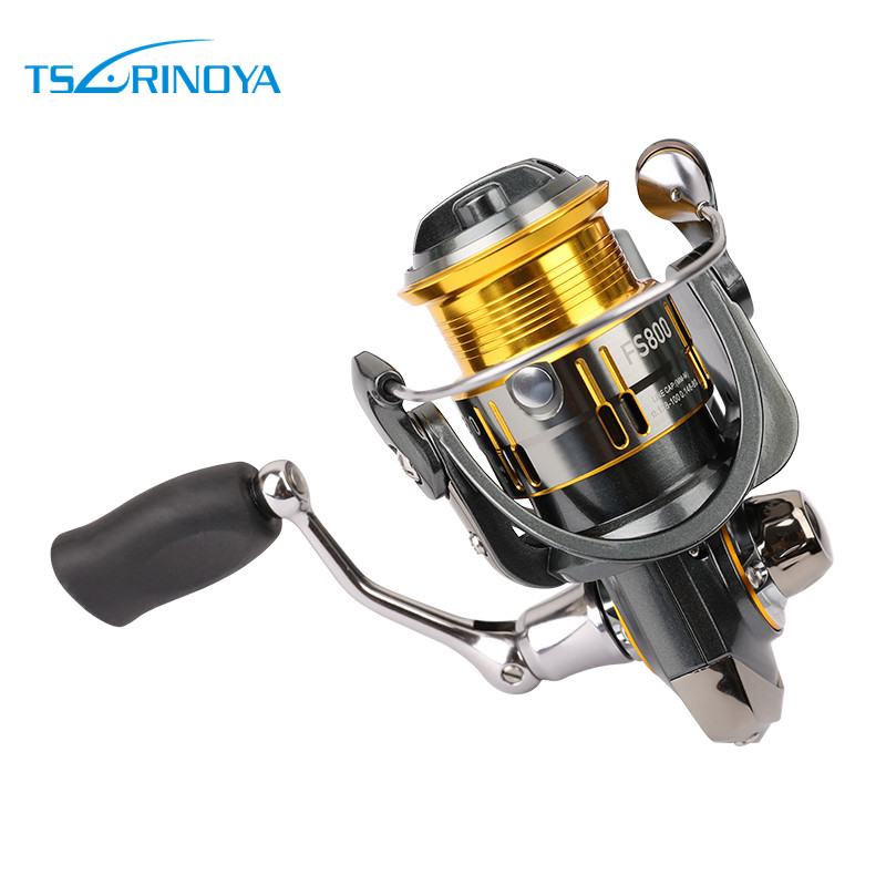 New Tsurinoya Spinning Fishing Reel 10 Ball Bearings 5.2:1 Ratio Lightweight Reel Moulinet Free Shipping Reel 175g Weight FS800 встраиваемый электрический духовой шкаф bosch hbg 517 bs 0r