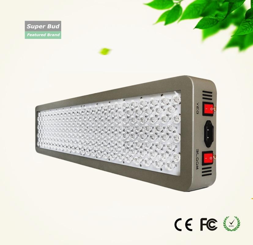 P600 12-banda cresce a luz LED 600 W Cresce A Luz LED-DUAL VEG/FLOR ESPECTRO COMPLETO hidropônico plantas de estufa crescer tenda coberta