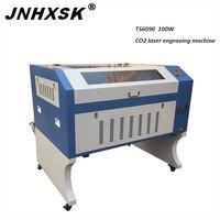 JNHXSK TS6090 M2 100 W 3d lasergravure en snijmachine CNC Router  Hout  Multiplex  Kunststof  acryl  Crytal  Papier  Glas  Plexigl