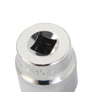 Image 2 - Llave de vaso de todos los tamaños, 1/4 3/8 1/2 pulgadas, TAMAÑO MÉTRICO, 6 puntos, unidad superficial Individual, herramienta de enchufe, Material CRV, 4 32mm