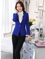 Plus Size Formal Uniform Style Professional Business Women Work Suits With Blazers And Pants Female Trousers Clothing Sets