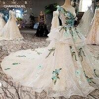 LS00312 Vestido De Festa Prom Dresses Backless Appliques Tank Lace Beading Flowers Ball Gown Evening Dresses