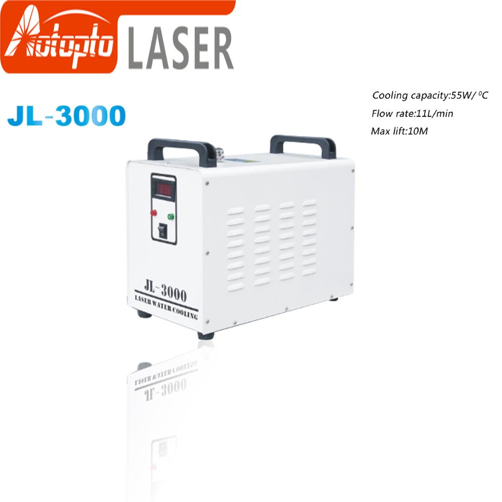JL-3000 Industry Air Water Chiller For CO2 Laser Engraving Cutting Machine Cooling 80W Laser Tube