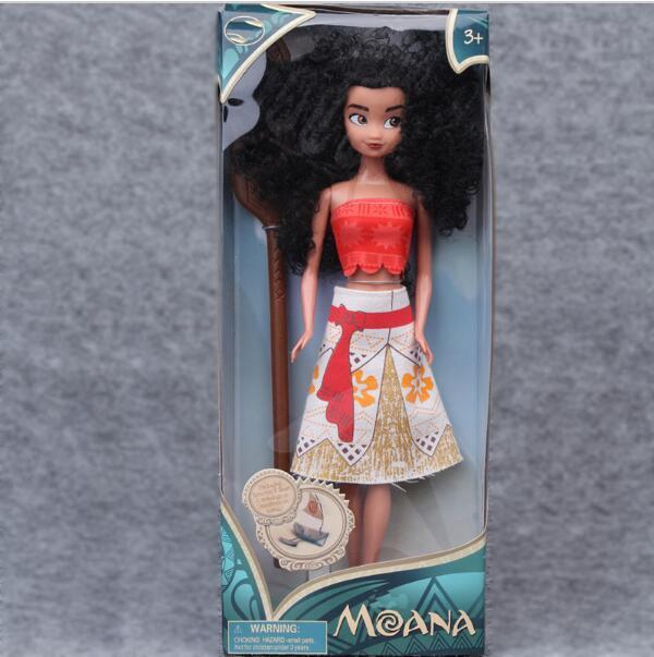 Hot Kids Personalized Christmas Gifts Moana Adventure Mo Ahna Princess Doll Gift Anime Toy