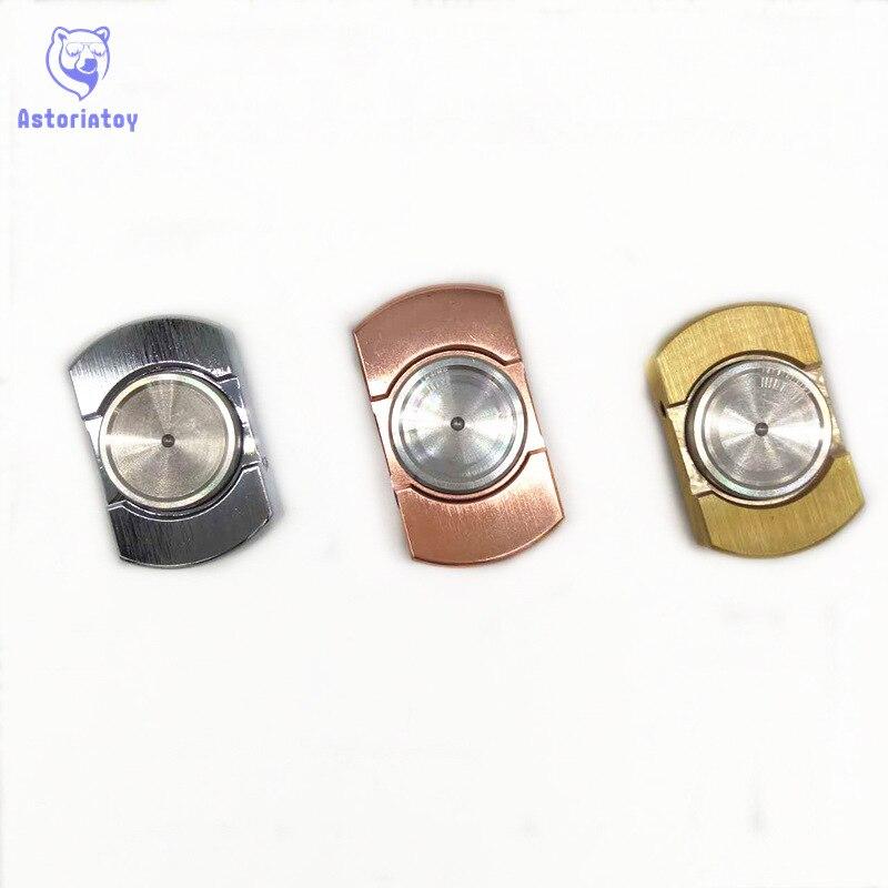3 цвета латунь Spinner непоседы анти-стресс сенсорными палец блесны ручной Spinner Высокое качество для взрослых Игрушечные лошадки СДВГ