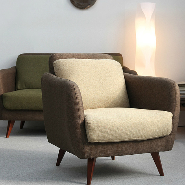 Ikea Simple Japanese Style Fabric Sofa Small Apartment Sofa Chair
