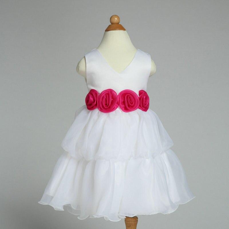 2017 New Princess Girl Party Dress v neck Sleeveless children\'s ...