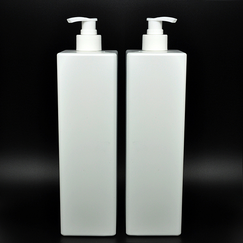 high quality 1000ml X 10 Empty white Pump Lotion Bottle With white cap 1000cc Makeup Setting