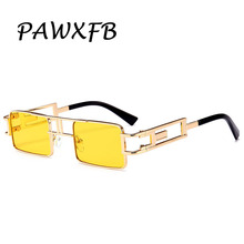 PAWXFB 2019 New Small Frame Rectangle Sunglasses Women Fashion Sun glasses Accessories Ladies Gafas de sol