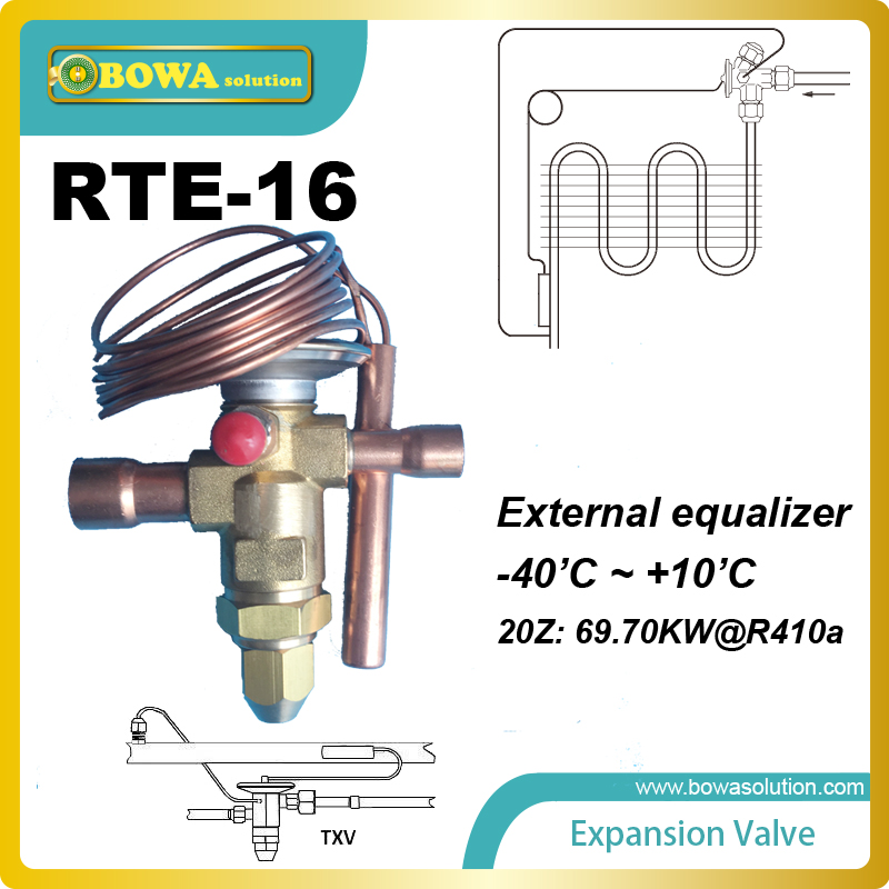 ФОТО RTE-16 offers mechanical thermal expansion valves and electronic expansion valves for a variety of HVAC-R applications