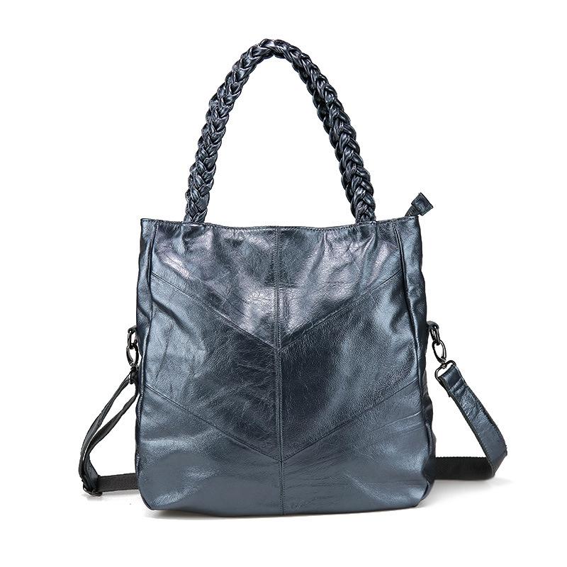 Fashion Women Messenger Bag Tote Bags 2018Brand Genuine Leather Women Handbag Cow Leather Patchwork Shoulder Bag sac a main esufeir brand genuine leather women handbag cow leather patchwork shoulder bag fashion women messenger bag tote bags sac a main