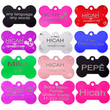 2pcs lot of Free Personalized Engraving dog tag ID