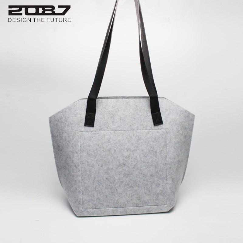 design prático grande tote sacolas Bag Main Material : Eco-friendly Felt