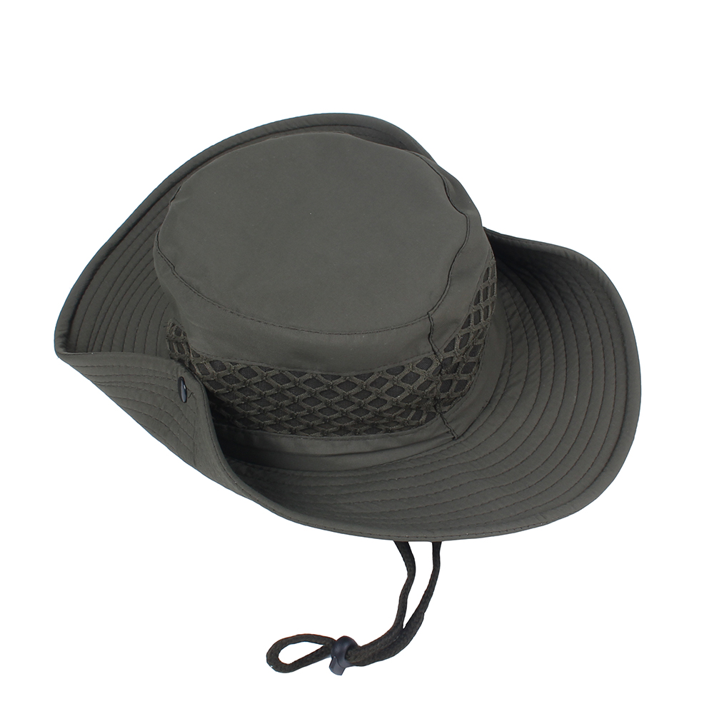 3745762556d Difanni Summer Men Women Solid color Bucket hat with string Fisherman Cap  Military panama safari boonie hiking hat unisex sunhat-in Bucket Hats from  Apparel ...