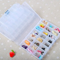 15 Grids Plastic Jewelery Storage Box Holder Container Case Earrings Necklace Organizer Women Makeup Box #22870