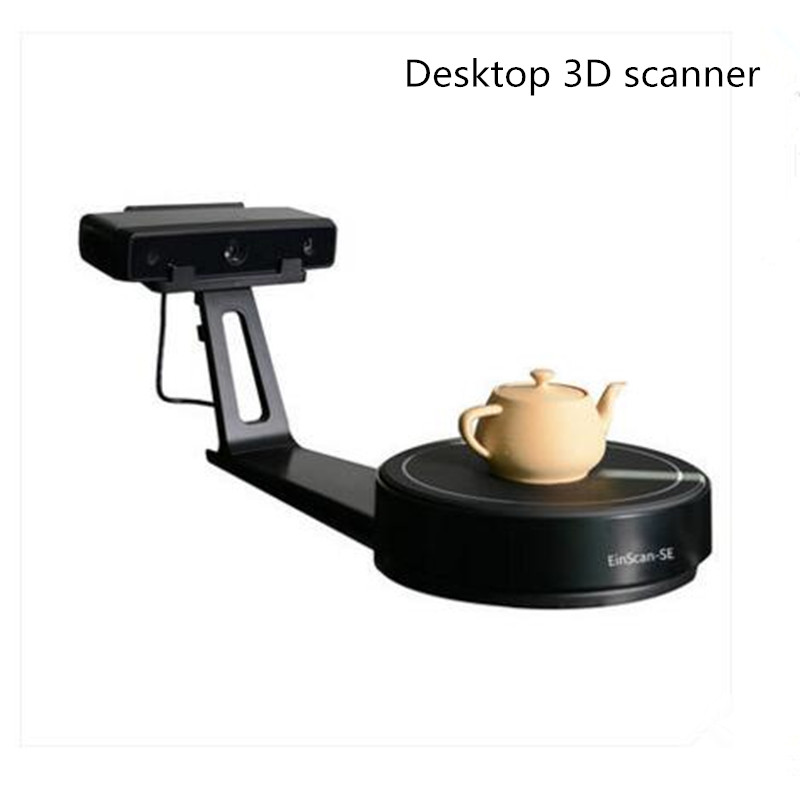 HE3D Desktop white light Einscan-SE 3D Scanner,save as STL file,Fast, versatile, easy and fast, compatible with 3D printing