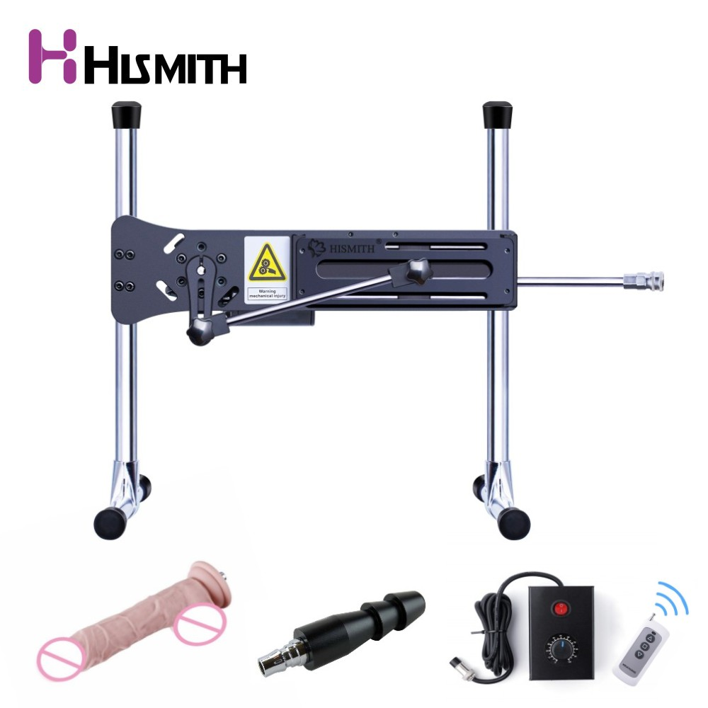 HISMITH Preminum Sex Machine Upgrade with remote control vac-u-lock wire-controlled love machine 90 degree adjustable sex toys remote control preamplifier cs3310 upgrade with memory mute
