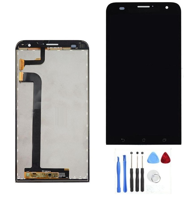 "100% Original LCD Display and Touch Screen Digitizer Assembly For Asus zenfone 2 Laser 5.5"" ZE550KL Me550kl Z00LD + Repair tools"