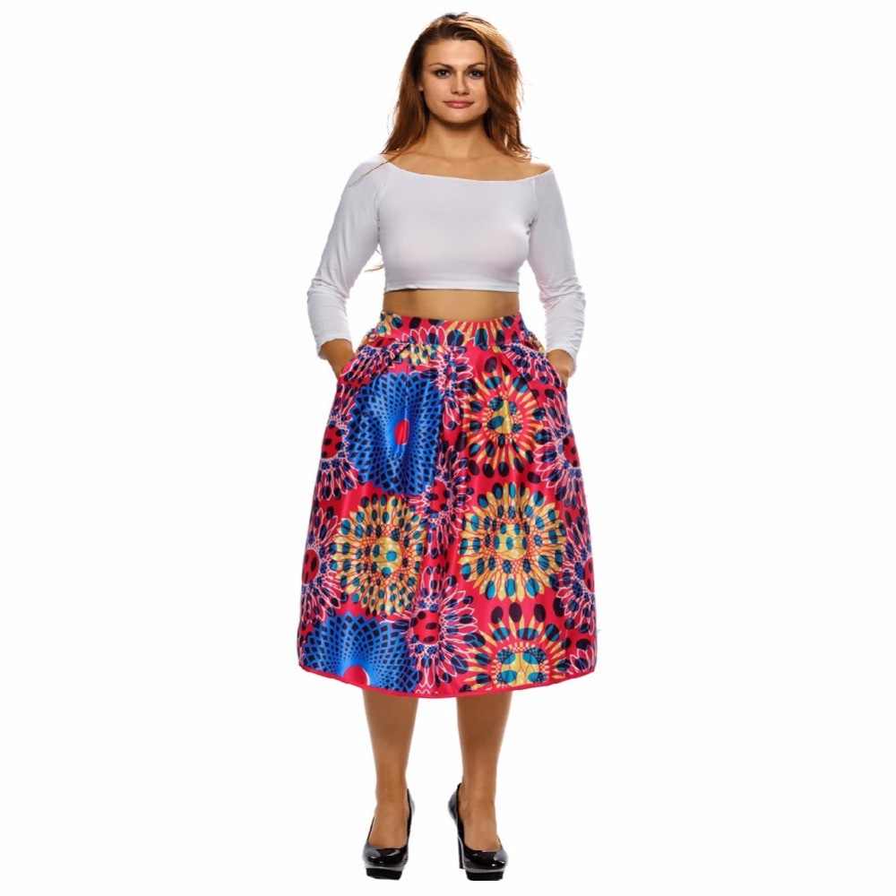 Women outfits African print skirt dashiki design skirts custom made African clothes
