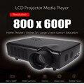 Co680 Reproductor Multimedia Proyector LCD 4000 Lúmenes 800x600 Píxeles para la Oficina En Casa la Educación Proyector de Cine En Casa Inalámbrico