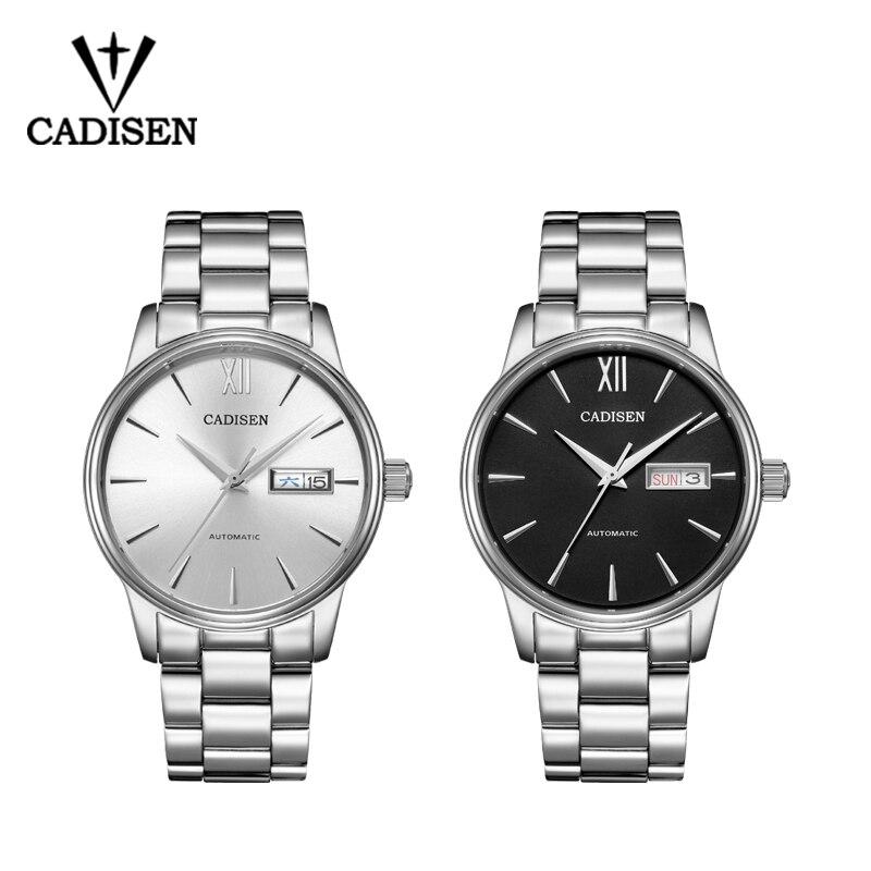 CADISEN 2019 hommes montre automatique mécanique rôle Date mode marque de luxe étanche horloge mâle Reloj Hombre Relogio Masculino - 6