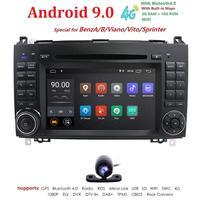 Ossuret DSP ips Android 9,0 2 DIN автомобильный DVD gps для Audi TT MK2 8J 2006 2007 2008 2009 2010 2011 2012 мультимедиа плеер радио obd2