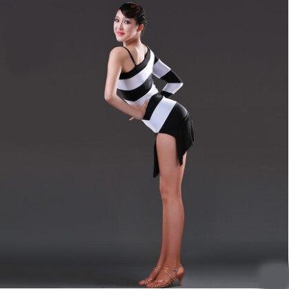 Latin Dans Elbise Seksi Ipeksi Kadife franjas roupas danskleding Dans - Sanat, el sanatları ve dikiş - Fotoğraf 1