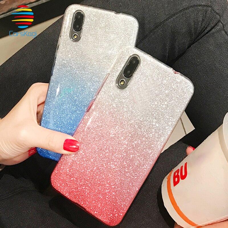 For Huawei mate 9 10 lite pro Nova 2 plus 3i Glitter women Summer ... 59ad8a0c277b