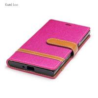 Gumiice 2017 New Product Suppprt Function Kickstand Wallet 9 Colors Cell Phone Cases For Sony XZS