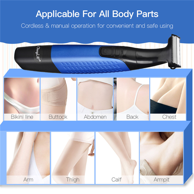 5 in 1 Electric Facial Hair Removal Epilators USB Rechargeable Painless Full Body Hair Shaver Women Men Eyebrow Nose Trimmer 35 2