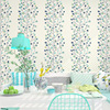Branch Tree Forest Wallpaper Art Abstract Design Rose Green Blue Polka Dot Wall Paper Roll For