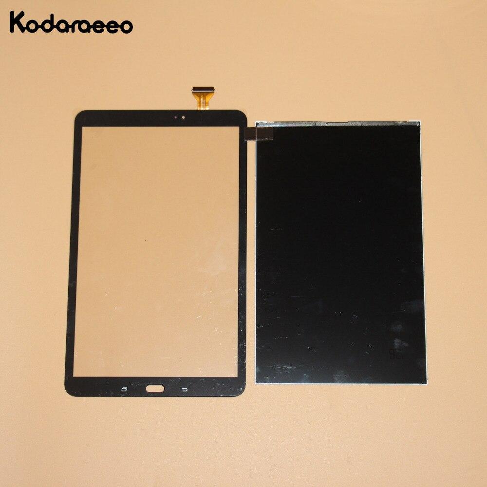 Kodaraeeo para Samsung Galaxy Tab A T585 T580 digitalizador de pantalla táctil de cristal + Panel de la pantalla LCD de reemplazo de piezas negro