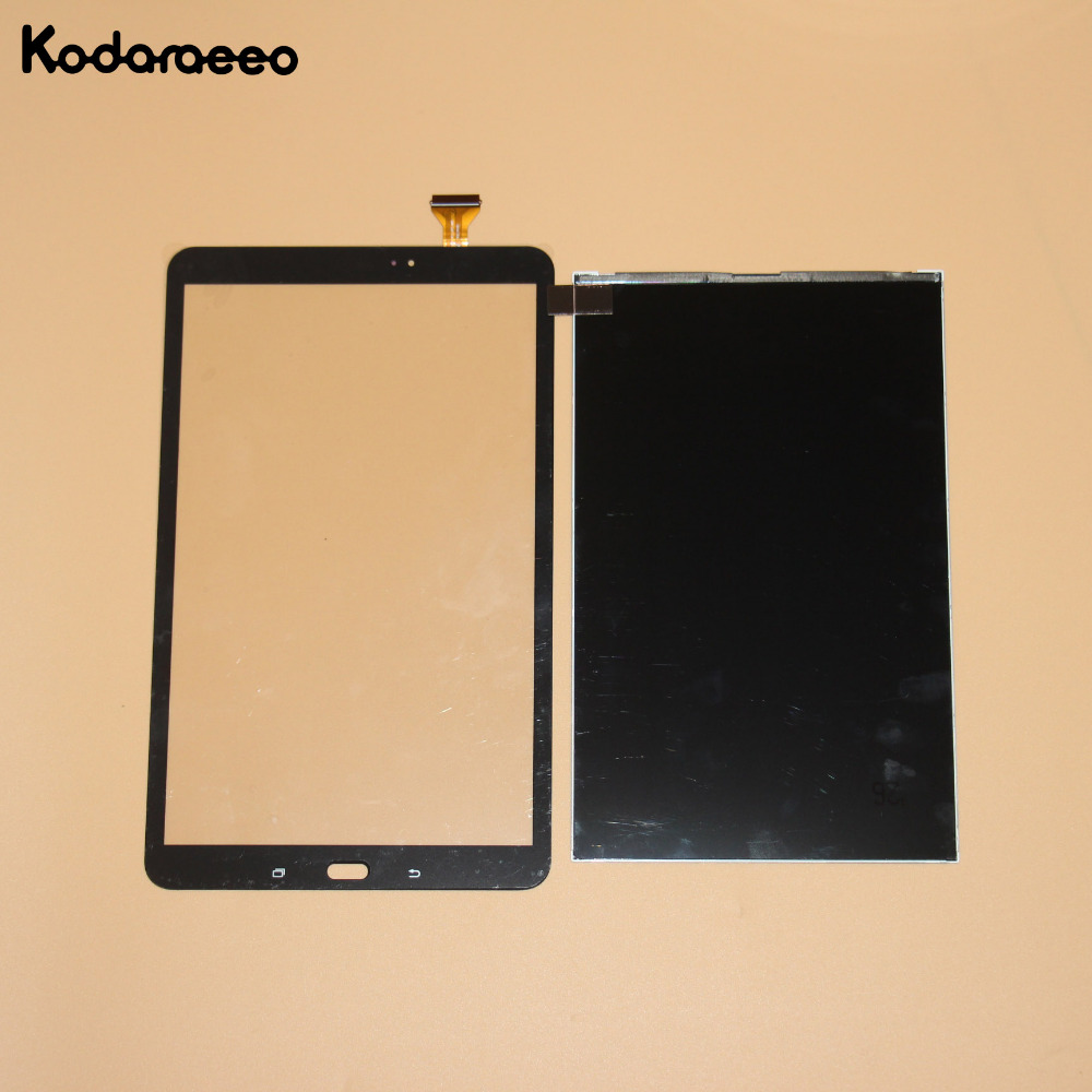 kodaraeeo For Samsung Galaxy Tab A T585 T580 Touch Screen Digitizer Glass+LCD Display Panel Replacement Parts Black redberry for samsung galaxy tab a 10 1 t580 sm t580 lcd display touch screen digitizer assembly replacement