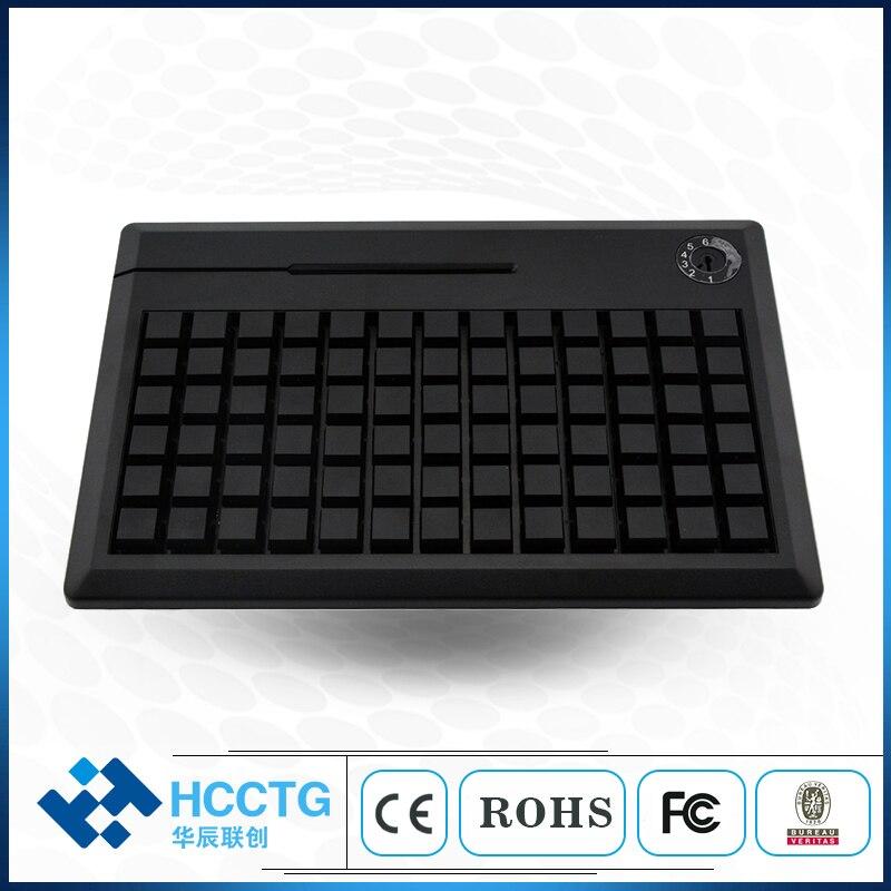 KB78 78 Keys /PS/2 Programmable Keyboard Without MSR (Support Mag-stripe Card Reader)